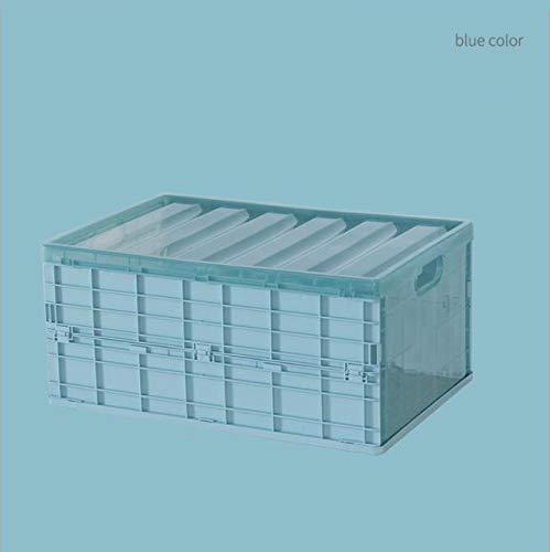 312 Folding Storage Plastic Desktop Storage Box Storage Storage Box car Underwear Box Multi-Function Portable Storage Box (Color : C, Size : C)