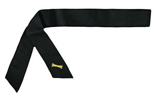 Miracool Neck Bandana - Re-usable 100's of times - Keeps you cool - BLACK - 4 pack
