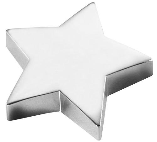 Natico Paperweight, Silver Star (60-320S) by Natico