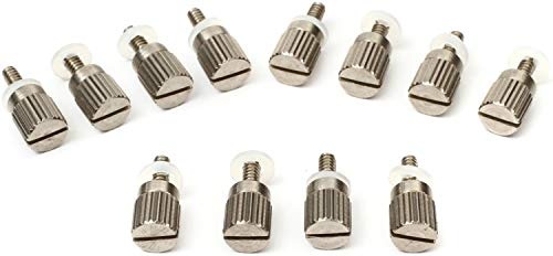 Radial ThumbSet Screws for 500 Series Modules 12-Pack