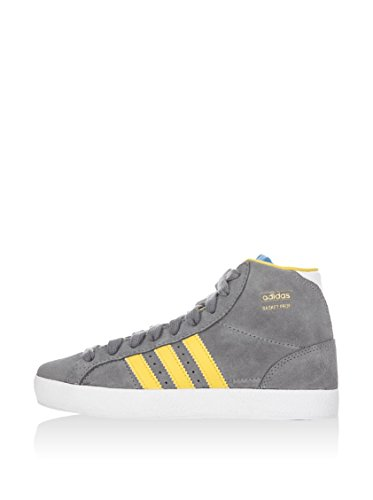 Profi Originals Grey 6 adidas Unisex Yellow Trainers Child Basket K qRU1gwx