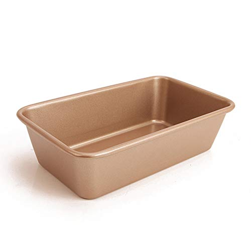 Monfish Loaf Bread Pan open top Rectangle loaf pan for baking bread carbon steel non stick loaf cake pan 9.5x5.75 inch
