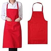 Kitchen Apron RED Cotton fabric (RED)