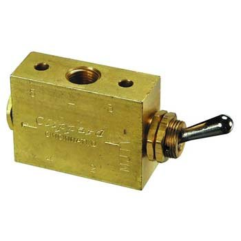 Clippard M-MJTV-4 Steel Toggle Valves by Clippard
