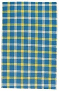 product image for Capel Yacht Club Stately Blue 5' x 8' Rectangle Flat Woven Rug
