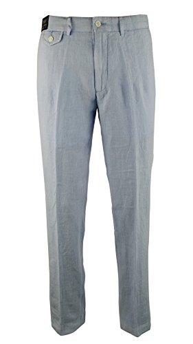 Shoes Linen Pants (Polo Ralph Lauren Men's Straight-Fit Flat-Front Linen)