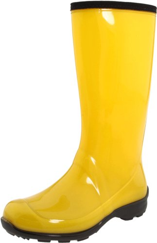 Kamik Women's Heidi Rain Boot,Yellow,7 M US by Kamik