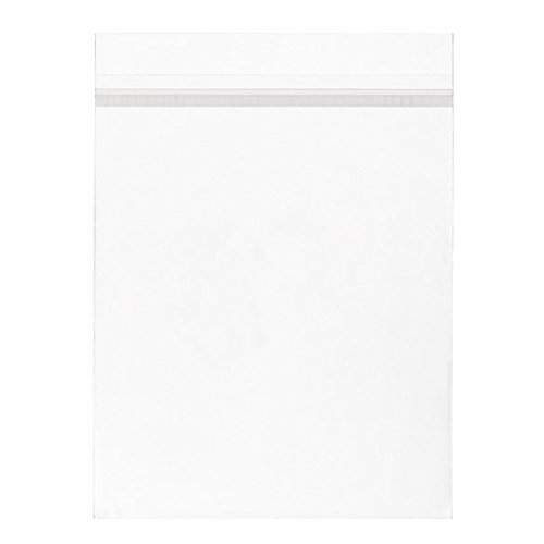 ClearBags 11 x 14 Crystal Clear Bags | Art Sleeve Protects Photos, Artwork, Crafts, Favors | Acid Free and Archival Safe (100, Adhesive on Bag)