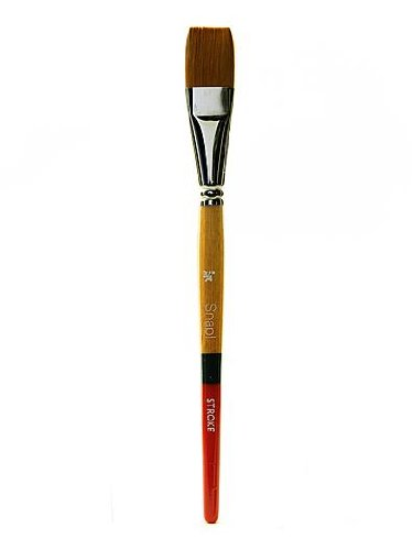 Princeton™ Snap! 9650ST-075 Taklon Stroke Brush, Gold