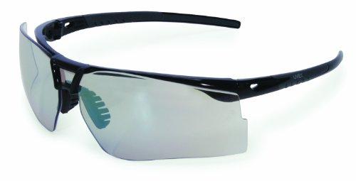 Uvex S0504 Bayonet Safety Eyewear, Gloss (Grey Tint Safety Glasses)