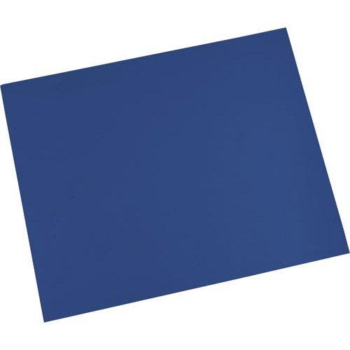 Desco 66204 Dissipative Dual Layer Rubber Mat Roll, Dark Blue, 24'' x 50' by Desco