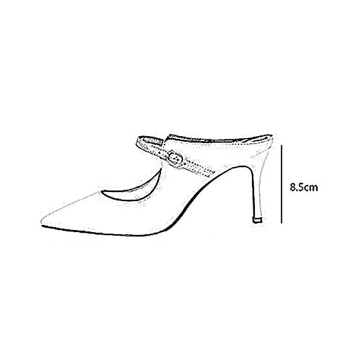 Scarpe E Borse Da Donna Sandali Ye Colorblock Sandals High Heels Ms Summer The 8 5cm bianco Nero