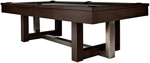 Amazon.com: HJ Scott 8 Abbey billar mesa de billar ...