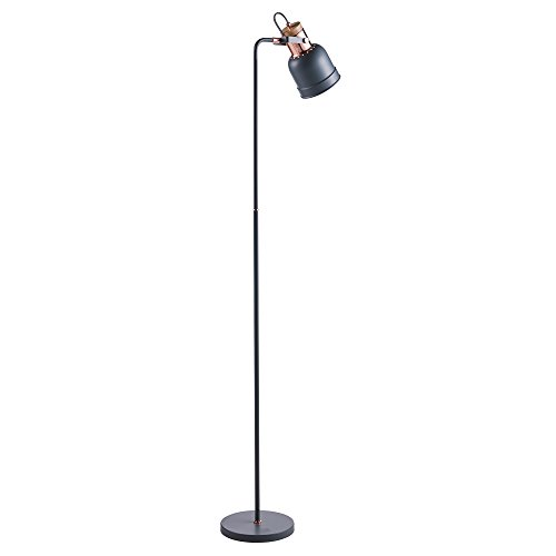 Versanora VN-L00040 Lattine Monopod Floor Lamps, Grey/Rose Gold