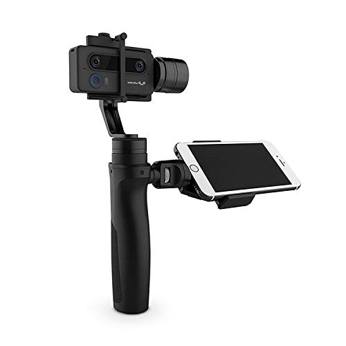 3D Camera Gimbal Stabilizer Handheld Smartphone Streaming Camera Ultra HD 3K WiFi Mini Camera Photos and Video 3 Axis Handheld Stabilized Camera Gimbal 3D Stream YouTube Facebook(Cinematic Kit) For Sale