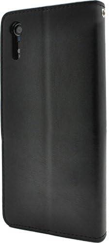 PLATA Xperia XZ/XZs ケース 手帳型 SO-01J / SOV34 / 601SO Xperia XZs SO-03J / SOV35 / 602SO 用 DSO01J-77BK
