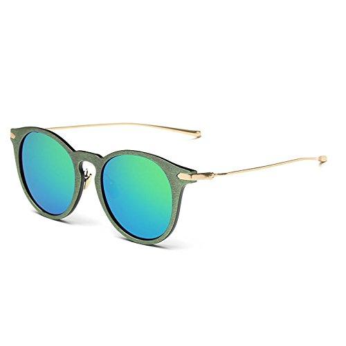 TIANLIANG04 Gafas Sol De 026C3 Mujer Madera Trigo 026C3 De Fake Gafas De Uv400 rg1ar
