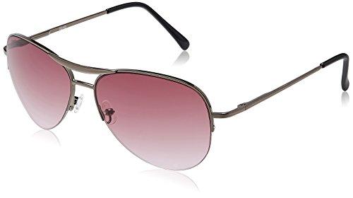 Fastrack Aviator Women's Sunglasses (M083PR3F|Purple Pink)