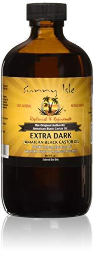Sunny Isle Extra Dark Jamaican Black Castor Oil 8 oz