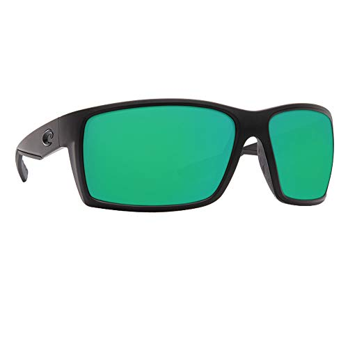 Costa Del Mar Reefton Sunglasses Blackout/Green Mirror 580Plastic (580p Costa Del Mar)