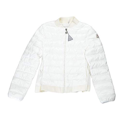 Moncler Girl's KAMELIE White Down Wondbreaker Jacket Moncler Sz 12A ()