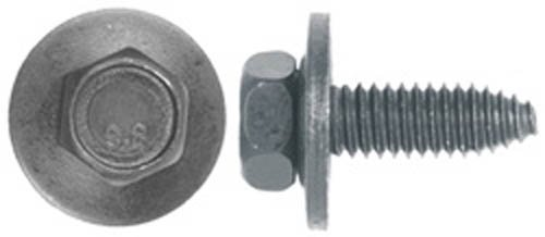 (25) 5/16-18 x 1'' Body Bolts 1/2'' Hex 7/8'' Washer by Clipsandfasteners Inc