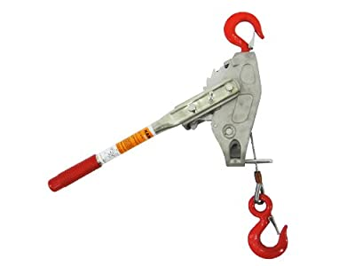 1500# 10' Ratchet Cable Puller Come-Along