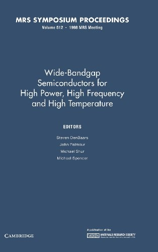 Wide-Bandgap Semiconductors for High Power, High Frequency and High Temperature: Volume 512 (MRS Proceedings)