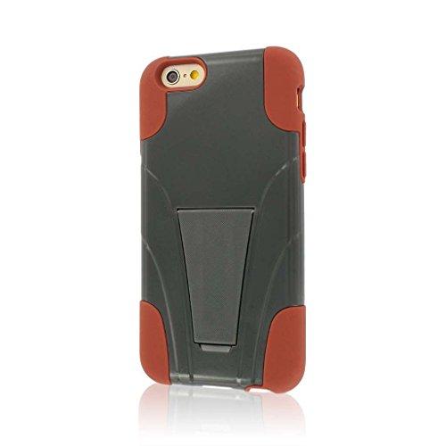 "MPERO IMPACT X Series Kickstand Case Tasche Hülle for Apple iPhone 6 4.7"" - Sandstone / Grau"