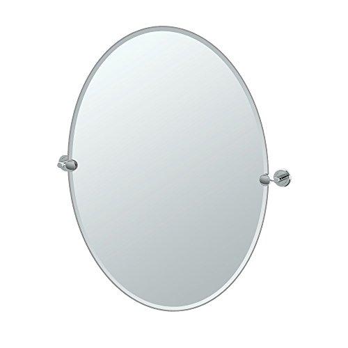 Gatco Latitude II Rectangle Mirror,, Chrome, 32
