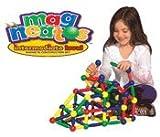 : Guidecraft G8202 Magneatos Intermediate 114 Piece Magnetic Building Set