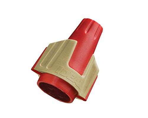 Ideal 30-644J Twister PRO 344 Wire Connector, Red/Yellow, Jar of 500 from Ideal