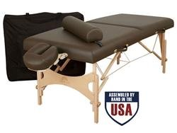 Oakworks-Nova-Massage-Table-Basic-Package-Green