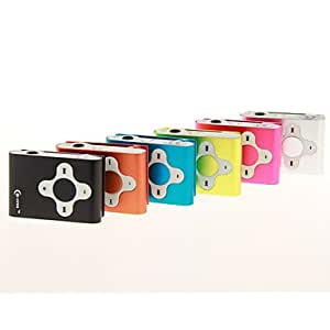 TF Card Reader MP3 Player / 6 Colors Available Lightning Sale --- COLOR:Pool