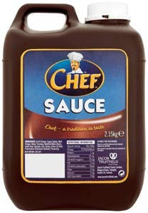 Chef Sauce - Chef Catering Brown Sauce 2.15Kg (72.7oz)