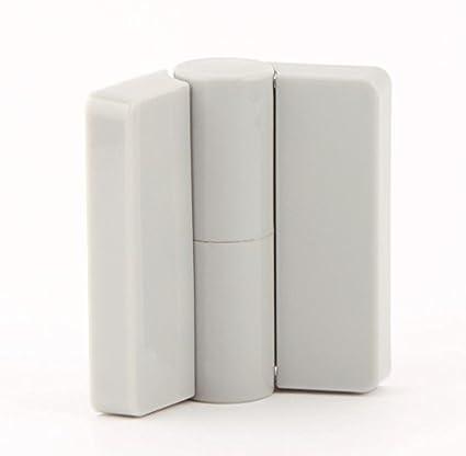 cabsan – Juego de 6 PAUMELLES izquierda tirante nailon Rango 2 para casetas y baños 10
