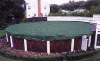 18 Ft. Round Green Supreme Plus Above Ground Swimming Pool Winter Cover (15 Year Limited Warranty)
