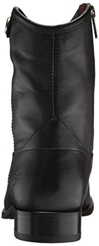 Frye Women's Melissa Button Short 2 Boot Black VwhXT6Lx