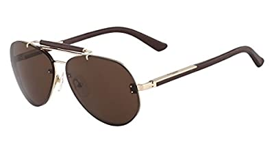 Calvin Klein sunglasses CK7362S 223 Metal Brown - Gold Brown