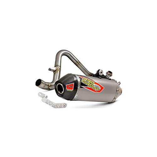- 17-18 KAWASAKI Z125PRO: Pro Circuit T-6 Full-System Exhaust (Stainless Header/Titanium Canister/Carbon End-Cap)