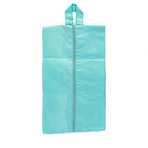 MOPOLIS 1Pc Portable Travel Storage Shoe Bag Boots Bag Sealed Storage Bag Multi-color QP | Color - Sky blue