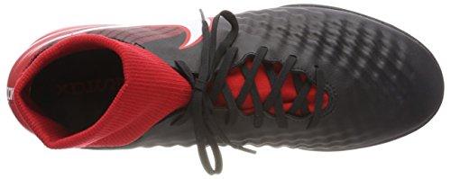 Nike Herren Magistax Onda II DF IC Fußballschuhe Mehrfarbig (Black/University Red/White 061)