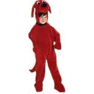 Toddler 2-4 - CHILD Clifford The Big Red Dog DELUXE Costume