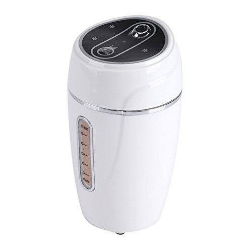 Fdit Mini USB Car Office Ultrasonic Adjustable Humidifier Air Purifier Aroma Diffuser Mist Maker(White)
