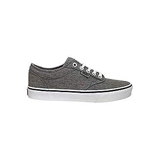 Vans Men's Atwood Low-Top Sneakers (11.5 M US Women / 10 M US Men, (Static Heather) Gray/White)
