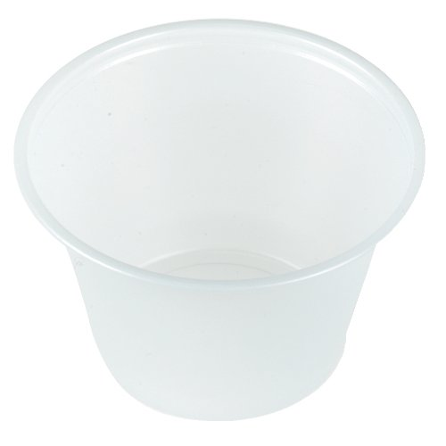 Dart P550N 5.5 oz Translucent PS Portion Container (Case of 2500) by Solo Foodservice