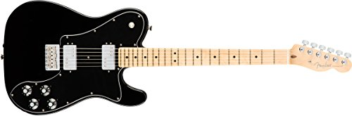 - Fender American Professional Deluxe ShawBucker Telecaster - Black w/Maple Fingerboard