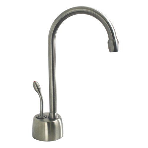 - Westbrass D271-07 Hot water dispenser, Faucet Only, Satin Nickel