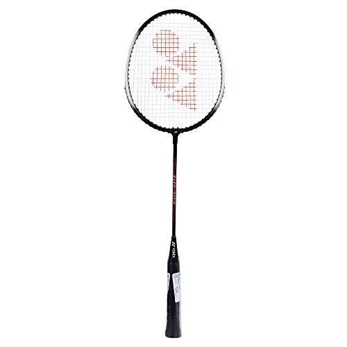 YONEX GR 303 Strung Badminton Racquet  Half Cover , Black