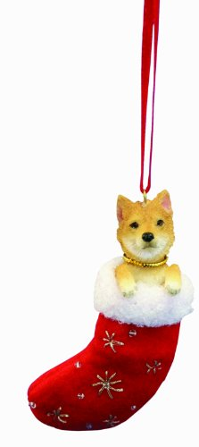 Shiba Inu Christmas Stocking Ornament with